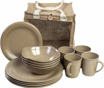 Highlander Eco-Friendly Picnic serviesset (16 delen)
