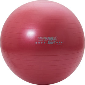 Christopeit Gym ball 65 cm incl. Pump red