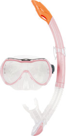 Osprey Maske & Schnorchel Junior transparent pink