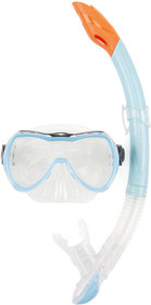 Osprey Maske & Schnorchel Junior transparent hellblau