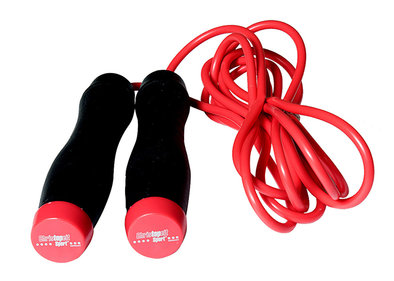 Christopeit skipping rope including weights
