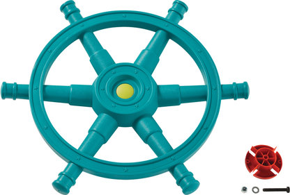 KBT stuurwiel boot Star turquoise/lime