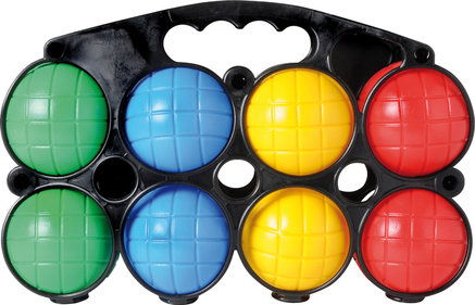 Jeu de Boules set of plastic (8 pcs.)