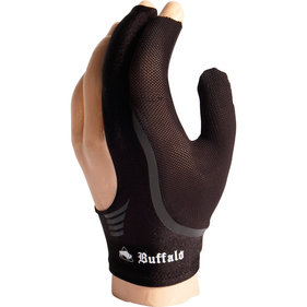 Buffalo Reversible billiard glove black / black M