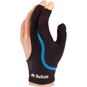 Buffalo Reversible billiard glove black / blue XL