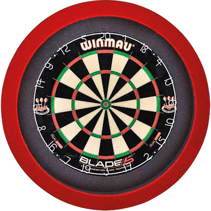 GrandSlam dartbord led-lighting rood