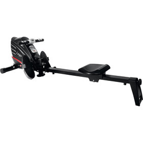 Christopeit rowing machine Lago black