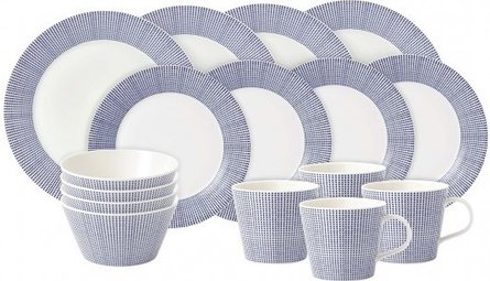 Royal Doulton Pacific Lines 16-teiliges Service-Set