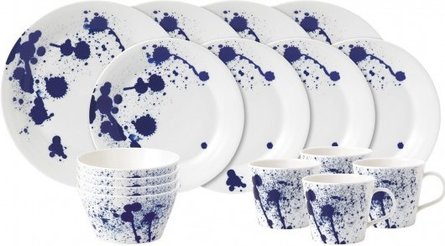Royal Doulton Pacific 16-teiliges Splash-Geschirrset