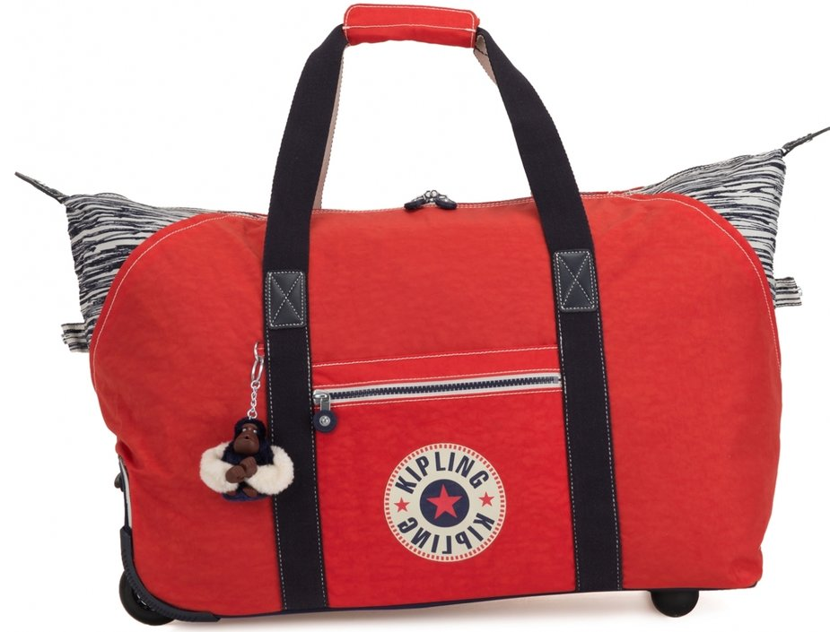 Kipling Art on Wheels-Reisetasche