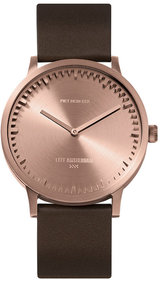 LEFF amsterdam Tube watch rose gold T40 watch