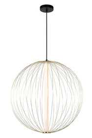 Lucide - CARBONY - Hanglamp - 2041460