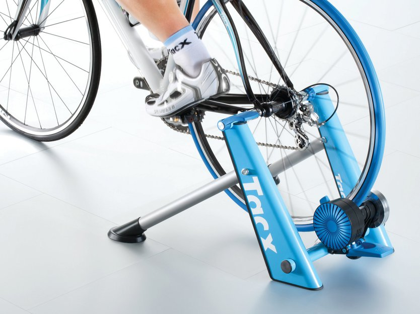 Tacx Blue Twist cycle trainer grey/blue cycle trainer