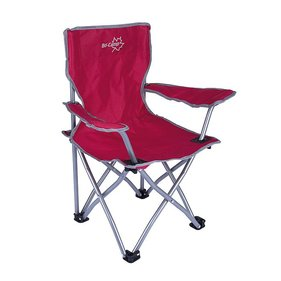 Bo-Camp - Highchair - Deluxe - Foldable - Red