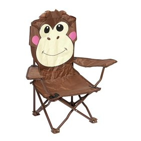 Bo-Camp - Highchair - Foldable - Safety-lock - Monkey model