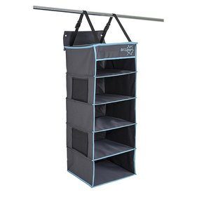 Bo-Camp - Organizer - 5-compartment - multifunctional - 34x34x85 cm