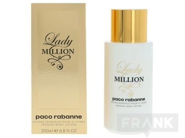 Paco Rabanne Lady Million sensual body lotion 200ml