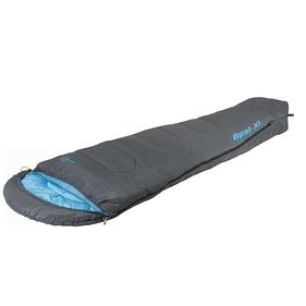 Bo-Camp - Sleeping bag - Mummy Opal-XL - 240x90 cm - Gray / Blue