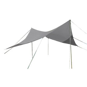 Bo-Camp - Tarp - Travel ruit - 4-Hoekig - 3x3 Meter