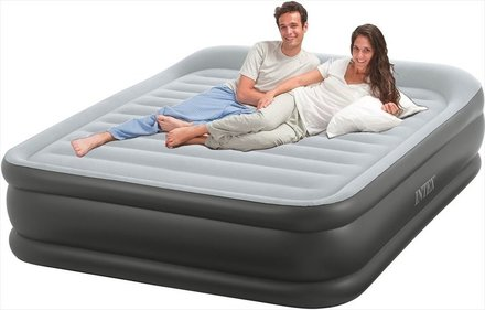 Intex Pillow Rest Deluxe luchtbed - tweepersoons