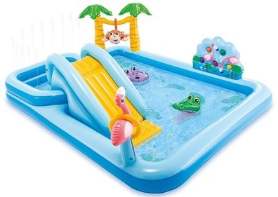 Piscine gonflable Intex Playcenter Jungle Adventure