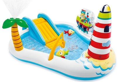 Intex Playcenter Fishing Fun opblaaszwembad
