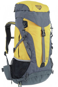 Pavillo Dura-Trek backpack 65L geel