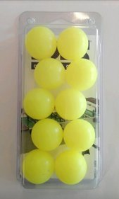 FAS Soccer balls 10pcs on Blister yellow