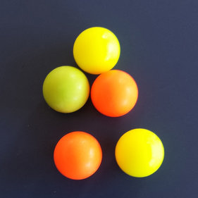 FAS Soccer balls colored p / 5 pieces
