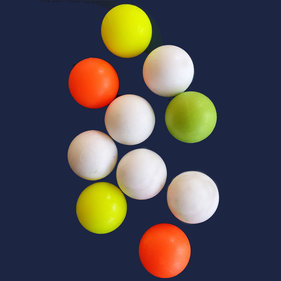 FAS Soccer balls p / 10 pieces (5 colored, 5 white)