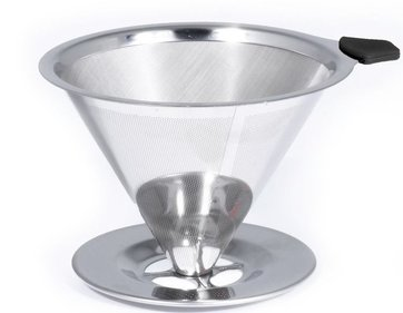 Bialetti Pour Over RVS koffiefilterhouder