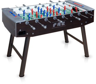FAS Fun Wenge football table with telescopic bars