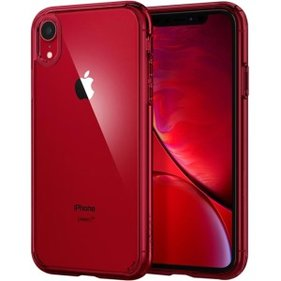 Spigen iPhone XR Case Ultra Hybrid Red hoesje