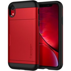 Spigen iPhone XR Case Slim Armor CS Red hoesje
