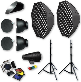 Menik flash accessories set 3