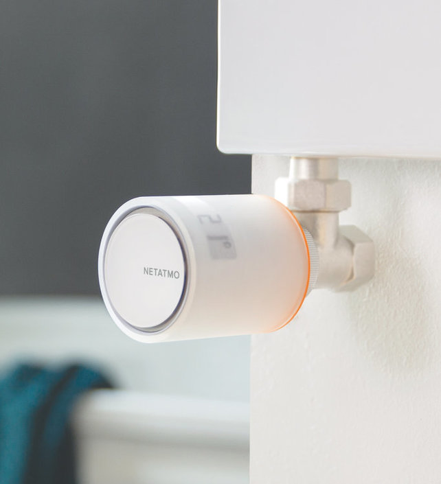 Netatmo uitbreiding Single Pack Intelligente radiatorkraan