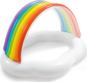 Intex Rainbow baby paddling pool