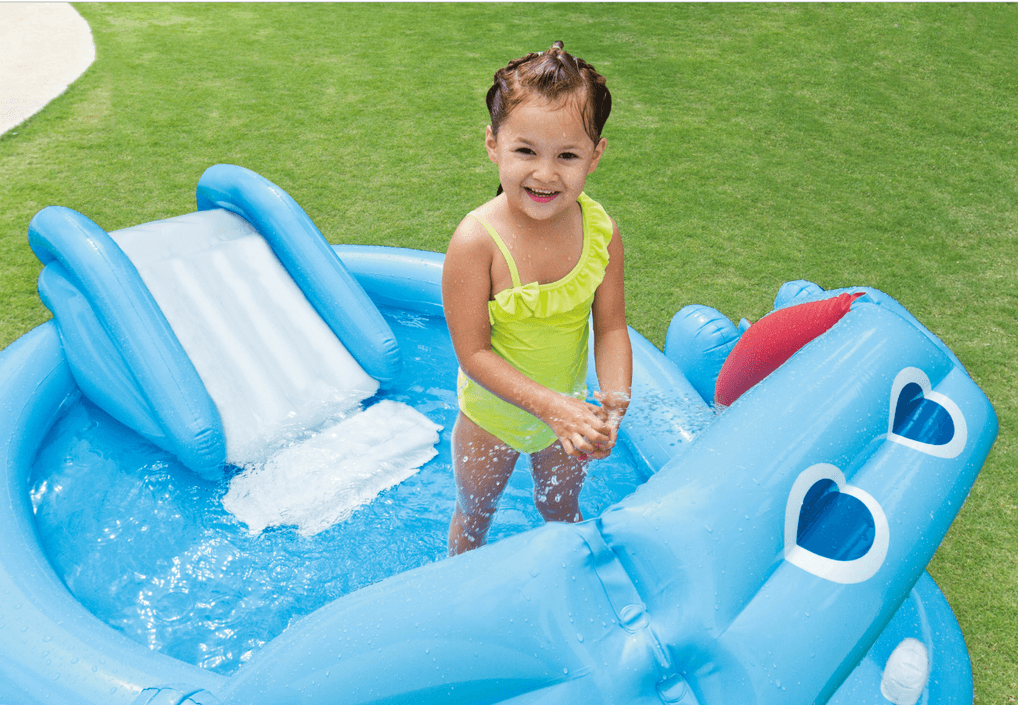 Intex hippo paddling pool