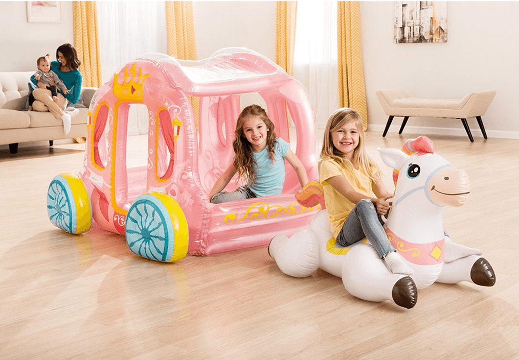 Intex inflatable Princess Carriage and Horse