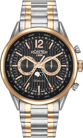 Roamer Superior Business Multifunction mens watch black