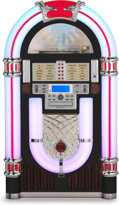 Ricatech RR3000 Classic LED jukebox op jukebox-expert nl | Frank