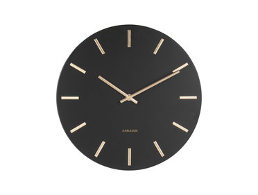 Karlsson wall clock Charm steel