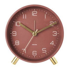 Karlsson walarm clock Lofty metal D. 11cm