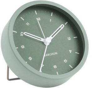 Karlsson alarm clock Tinge steel