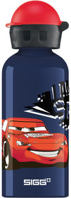 Sigg Kids minium Drinkfles Cars speed 0,4L