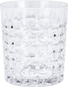 Valetti whiskey glass relief 300 ml