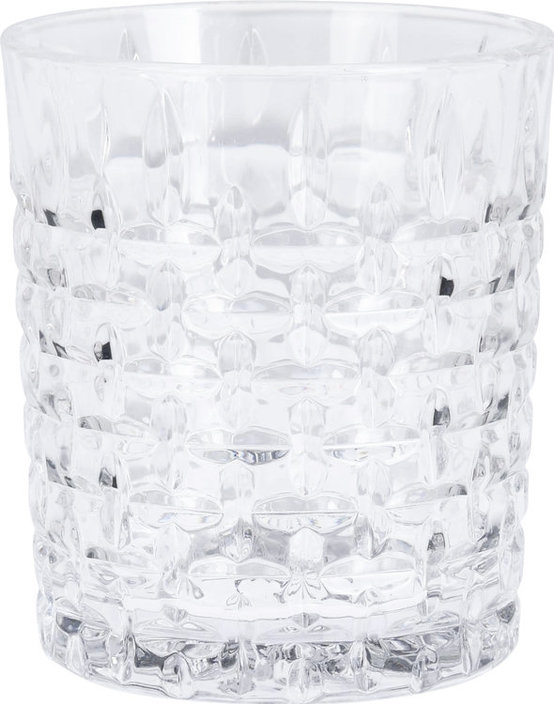 Valetti whiskey glas relief 300 ml