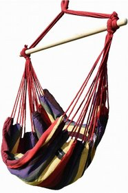 Valetti hanging chair with cushions