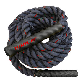 Tunturi Battle Rope - Fitness Rope - Crossfit Rope - Fitness rope - 15 meters