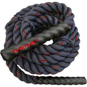 Tunturi Battle Rope - Fitness Rope - Crossfit Rope - Fitness rope - 12 meters